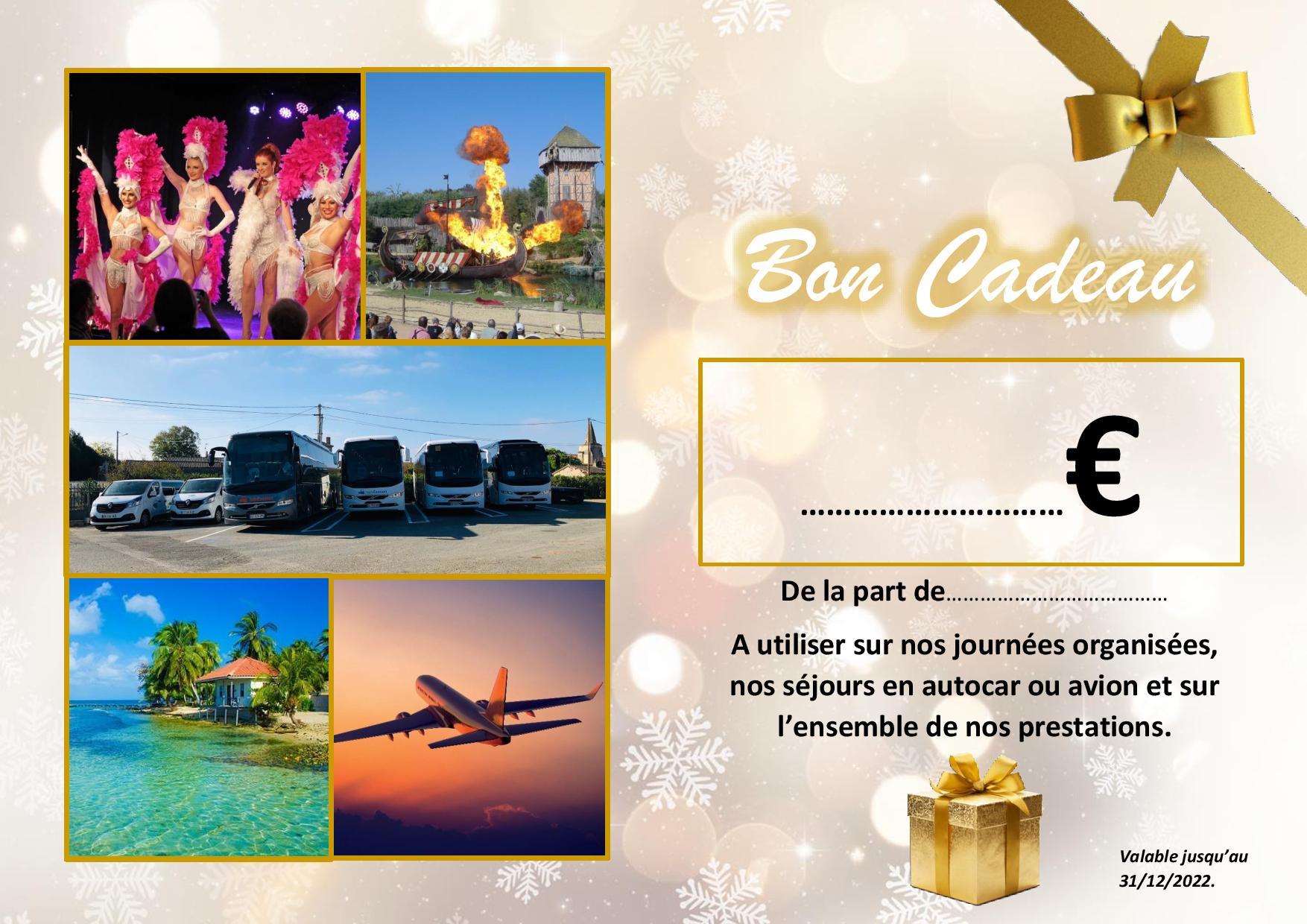 Bon cadeau = 100 €