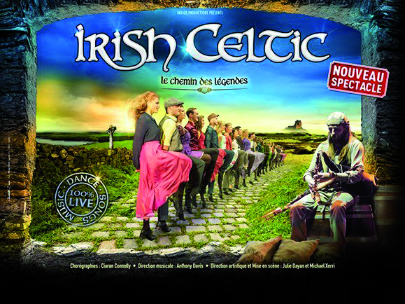 REPORTÉ EN 2022 // Irish Celtic // Grand Hall Tours // 20 janvier 2021 = 74€