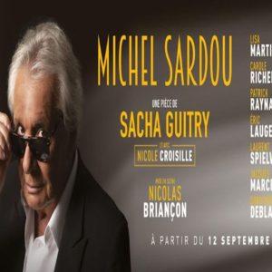 Michel Sardou dans N'écoutez pas Mesdames // Vinci Tours // 5 décembre 2021 = 82€