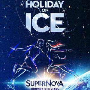 Holiday on Ice – Supernova // Grand Hall Tours // 5 & 6 mars 2022 = 73€